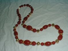 trifari necklace carnelian necklace gold by qualityvintagejewels