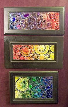 Aunt Beast series by Susan Crocenzi. I have to say I'm a fan of mosaics and this set is a lovely one.