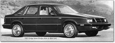 First Car -1985 dodge lancer