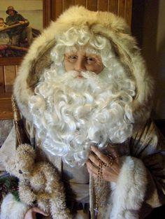 Christmas Past by Karen Vander Logt is a life size Santa