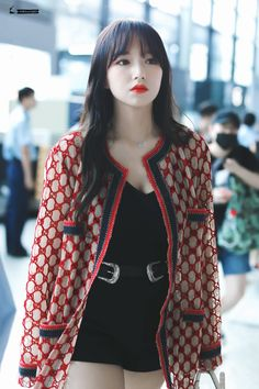 Air Force Blue, Girl Korea, Cheng Xiao, Cutest Thing Ever, Cosmic Girls, Actor Model, Airport Style, Kpop Girls, Girl Group