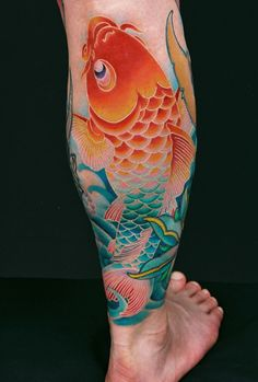 Tattoo by GENKO - beautiful colour...