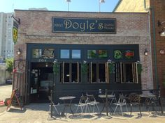 DOYLE'S PUBLIC HOUSE - this is where you go to watch your soccer game! From dawn to dusk Doyle's is playing the games. The Sounder's bus leaves from here, too! OPEN CHRISTMAS DAY for those of us that need a beer after family time. <3