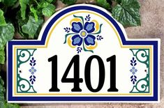 Our personalized Spanish-Style Address Signs and Custom House Plaques will bring that perfect expression of style to your home, estate or vacation get-away! Custom designs hand crafted to your individual order! House Address, Address Plaque, Address Signs, House Plaques, House Number Plaque, Spanish Style Homes, Spanish House, Spanish Colonial, Old World Style