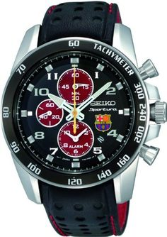 FC Barcelona Limited Edition Sportura Quartz Alarm Chronograph  Be the first to review this item | Like (0)  Price:	$395.00