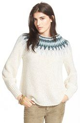 Free People 'Baltic Fairisle' Sweater