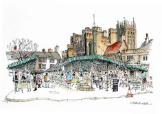 Market Square, Wells, Somerset | Flickr - Photo Sharing!