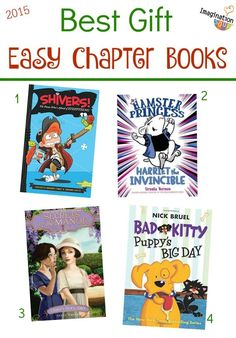 The Best Easy Children's Chapter Books 2015 - great gift ideas!