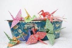 Pretty Paper Cranes