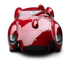 Red | Rosso | Rouge | Rojo | Rød | 赤 | Vermelho | Color | Colour | Texture | Form | 1958 Ferrari Testa Rossa