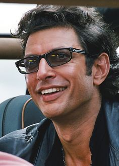 Jeff Goldblum in Jurassic Park, 1993. I'm a straight guy but Goldblum is too fucking sexy in this movie.
