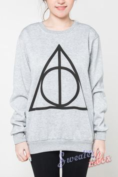 Deathly Hallows Jumper Harry Potter Symbol Movie by SweaterinBox