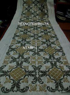 Beaded Embroidery, Cross Stitch Embroidery, Cross Stitch Charts, Needlepoint, Rugs, Pattern, Arabic Dress, Home Decor, Salons
