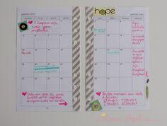 Como usar calendário mensal - O que escrever no calendário mensal - Agenda mensal - Monthly Planner