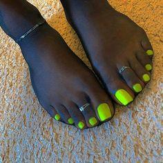 Pin on Feet Pretty Toe Nails, Cute Toe Nails, Cute Toes, Pretty Toes, White Toenails, Long Toenails, Acrylic Toe Nails, Pantyhosed Legs, Foot Pics