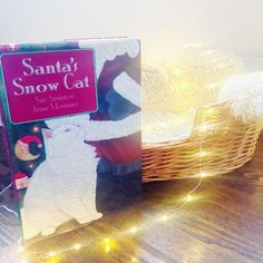 Found this book a few years ago and since it was practically my baby on the cover I had to get it, and what an adorable Christmas story it is.    #christmas #cat #cute #cover #lights #seasonal #holiday #pet