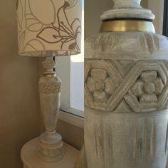 Flores, primavera, lampara de mesa by Provenza