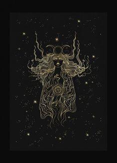 High Priestess – Cocorrina & Co Ltd Celtic Cross Tarot, Witchy Wallpaper, Illustration Art, Illustrations, Witch Art, Moon Art, Psychedelic Art, Aesthetic Art, Art Inspo
