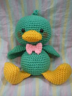 Make It: Duckling - Free Crochet Pattern, 8/15 ༺✿ƬⱤღ✿༻