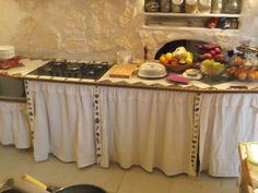 nouveaux rideaux cuisine....... - le bricolage, ma passion ... - Meuble Cuisine Rideau