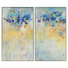 Meeting Place Diptych $249.00