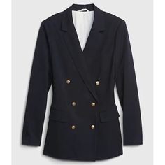 For the Emilio Pucci Punto Milano Navy Double-Breasted Jacket