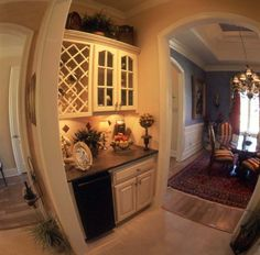 European House Plan Dining Room Photo - 024D-0060 | House Plans and More