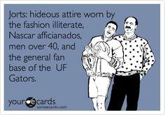UF fans wear jorts