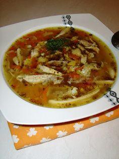 W mojej kuchni: Flaczki z kurczaka wg Aleex Polish Recipes, Lentil Soup, Special Recipes, Food Design, Soups And Stews, Food And Drink, Dinner, Cooking, Healthy