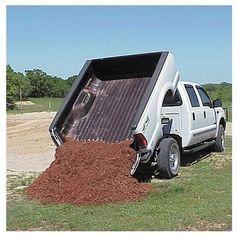 Pierce Arrow Pickup Truck Dump Hoist Kit - Capacity, Ford Chevy/GMC and Dodge Dump Trucks, Ford Trucks, Pickup Trucks, Toyota Trucks, Car Insurance Rates, Classic Car Insurance, Truck Accesories, 4x4 Accessories, Truck Tent