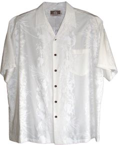 b9d1524d Formal Island White Hawaiian Wedding Shirt Tropical Outfit, Mens Hawaiian  Shirts, Wedding Shirts,