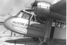 Middle East - North Africa - Central Asia — mideast-nrthafrica-cntrlasia:   Palestine Airways...