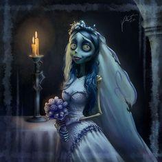 Cadáver de la novia.