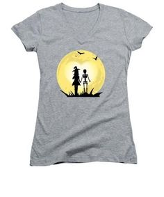 Our women's v-necks are made from 100% pre-shrunk cotton and are available in five different sizes. greatgirlsgifts.com