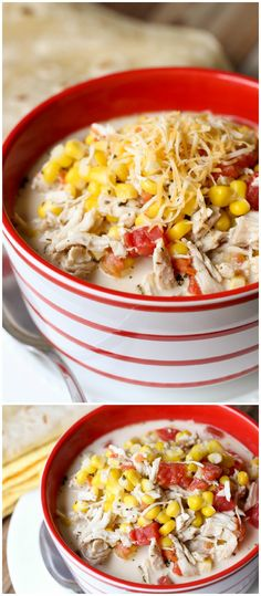 A new favorite soup - Mexican Chicken and Corn Soup. It's easy too!