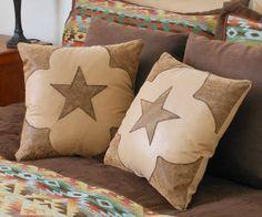 "Western Star Pillow Set- ""Simply Sweet"""