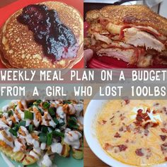 Meal Plan - Malzisfit - Online Nutrition & Training - Expolore the best and the special ideas about Budget meal planning Budget Meal Planning, Cooking On A Budget, Budget Meals, Easy Budget, Budget Recipes, Frugal Meals, Freezer Meals, Easy Meals, Low Carb Diets