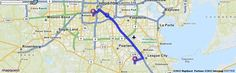 Driving Directions from 6160 Southwell Ln, League City, Texas 77573 to 6400 Fannin St, Houston, Texas 77030 | MapQuest