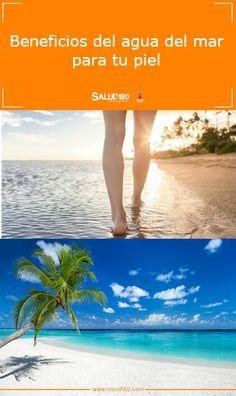 Cada vez se acerca más las vacaciones de verano y si estás decidiendo cuál será tu próximo destino, te recomendamos que leas los beneficios que el agua de mar tendrá para tu piel. Tal vez te ayudemos un poco a tomar una decisión. Beneficios del agua del mar en la piel ¡escápate en verano a la playa!     #vacaciones #verano #vacacionesdeverano #playa #aguademar #beneficiosdelaguademar #cuidadosdelapiel #salud #salud180 Adventure Tours, Beauty Recipe, Tips Belleza, Riviera Maya, Healthy Tips, Body Care, Touring, Sailing, Life Hacks