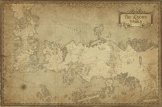 A Song of Ice and Fire World Map - MaximePLASSE.deviantart.com
