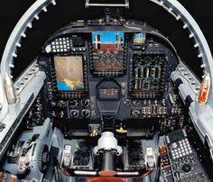 U2 Spy Plane Cockpit