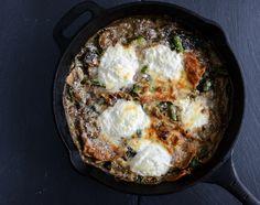 Springtime Veggie Skillet Lasagna