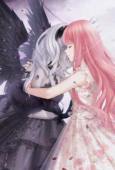 Screenshot from lovenikki Anime Angel Girl, Cool Anime Girl, Beautiful Anime Girl, Kawaii Anime Girl, Anime Art Girl, Anime Chibi, Chica Anime Manga, Fanarts Anime, Anime Best Friends