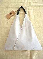 Grey Triangle Shopper Bag