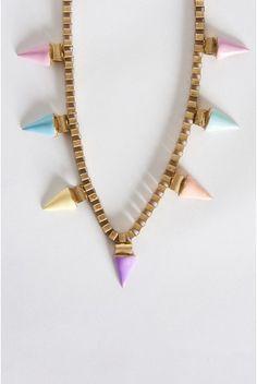 Pastel Punk Necklace
