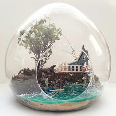 Terrarium with Tiny People