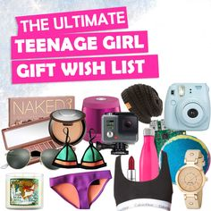 Christmas Gifts For Teenage Girls List New 2018