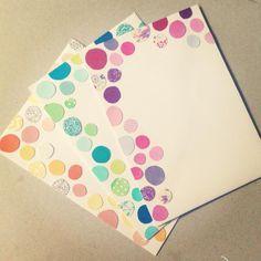 washi tape decorated envelopes pen pinterest decorated