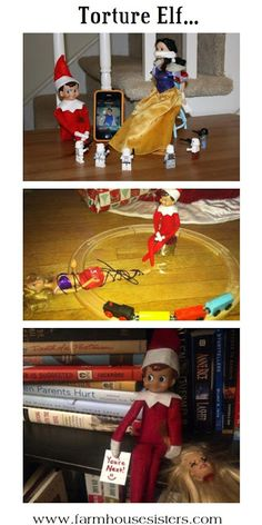 Farm House Sisters: R-Rated Elf on the shelf photos