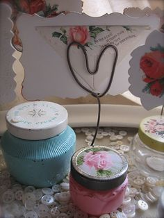 old avon jars...rich moisture cream and roses roses...loved them and can still remember their wonderful fragrances